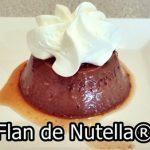Flan de Nutella®