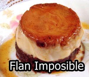flan imposible