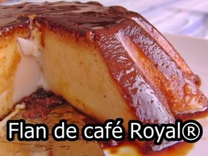 flan de cafe royal